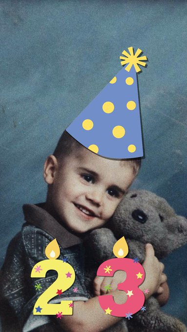The best Justin Bieber of the world Happy Birthday Justin