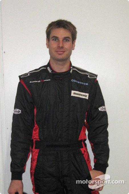 Happy Birthday Will Power! (Minardi PS04B) 2004 Winter Test at Misano