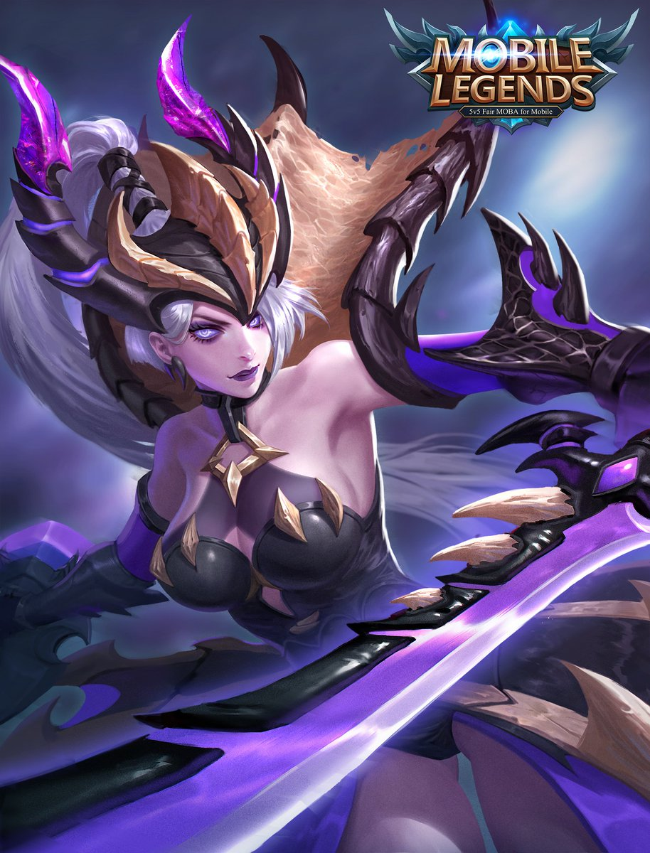 "Mobile Legends on Twitter: ""Starlight Member Exclusive Skin for March: Freya - Monster Hunter! # ..."