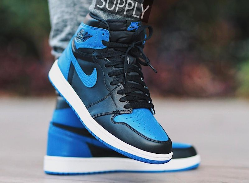 22fc2816704f On Foot Look at the Air Jordan 1 Retro High OG