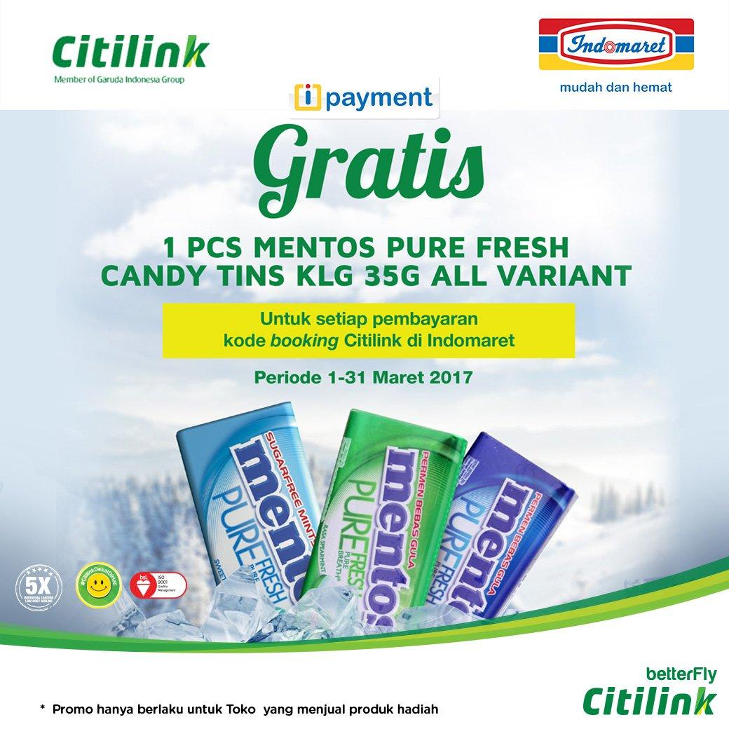 Indomaret On Twitter Gratis 1 Pcs Mentos Pure Fresh Candy Tin Klg Exclusive Voucher 7 700 Am 3 Mar 2017