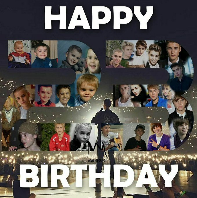 23 do mozão  happy birthday Justin Bieber