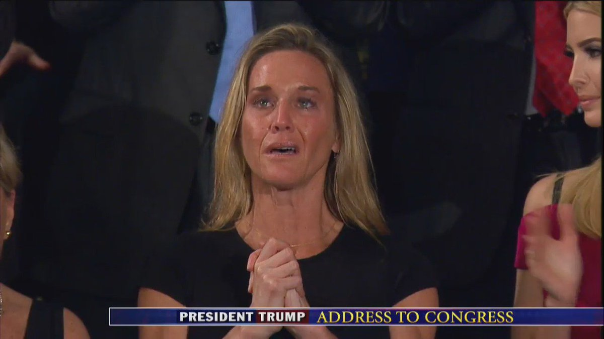 The #Left Did NOT Stand Because They Detest The #Military   And #RyanOwens Is One Less #GOP Voter    #JointAddress  https://t.co/jIAAZsCv03