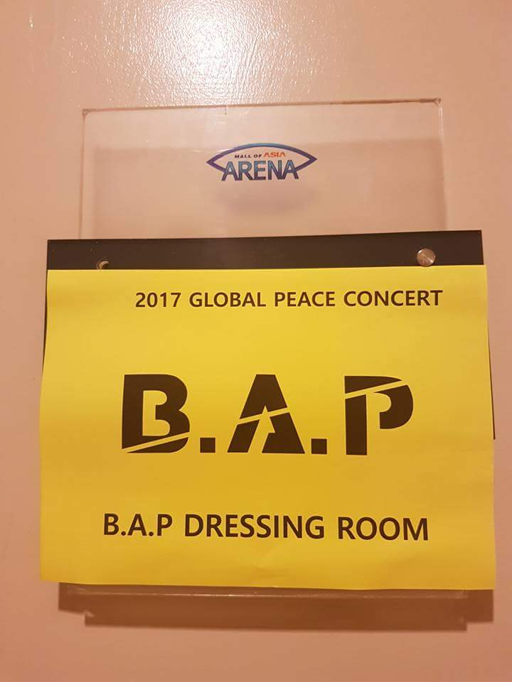 Dressing room of the Kings. #TeamBAP #OneKConcertinManila  <br>http://pic.twitter.com/3ggvp4mcAJ