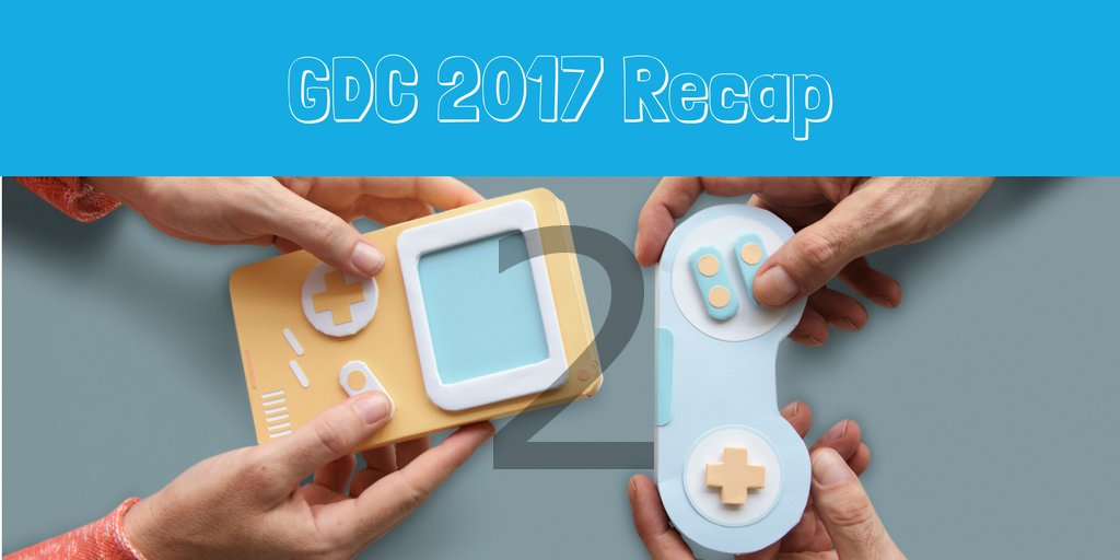 Day 2 is a wrap - another inspirational day! Here's my recap: livi.link/2lx66Hz #GDC17 #VR
