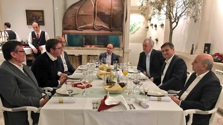Serbia PM Aleksandar Vučić with PM of Albania Edi Rama and Kosovo PM Isa Mustafa in Sarajevo