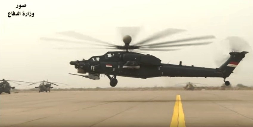 قيادة طيران الجيش تتسلم وجبة جديدة من طائرات mi28 C6-0a4lXAAQwmSq