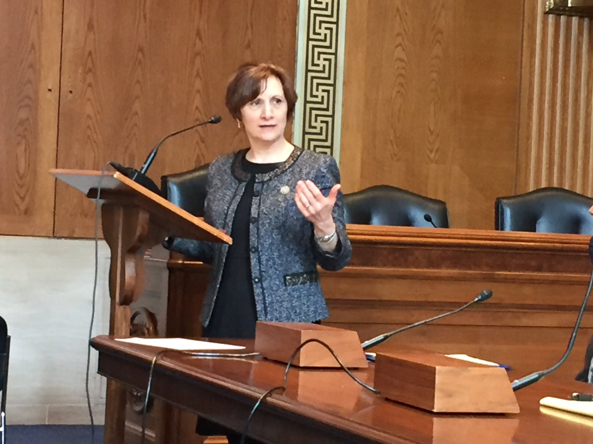 Oregon congresswomen @RepBonamici speaking to the key role of RELs supporting evidence use in ESSA and beyond @relnw #RELevant @KnowledgeAll https://t.co/YAHtfig8jB