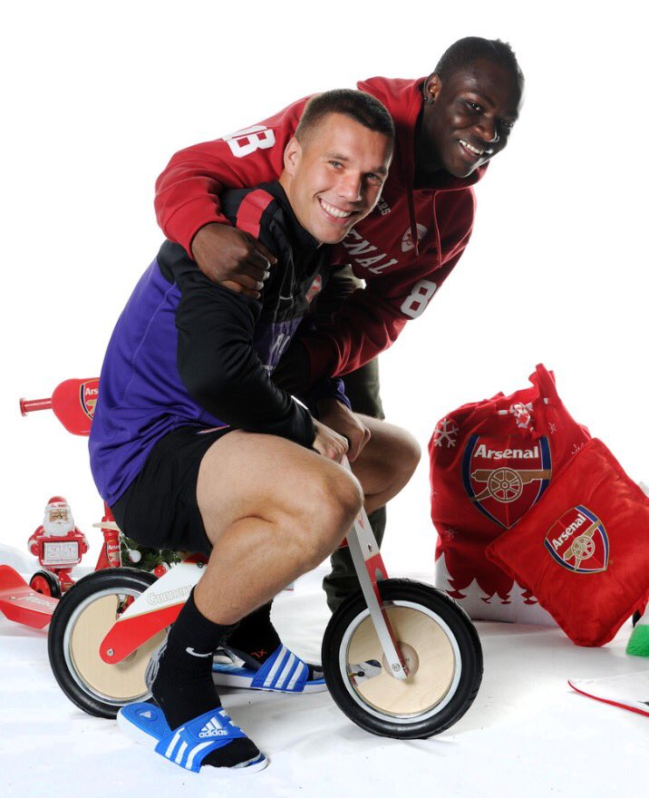 Looking through the  Podolski   file and found these  Never a dull moment with Poldi   afc  Arsenal  Poldi pic twitter com  ltLwAmBsa