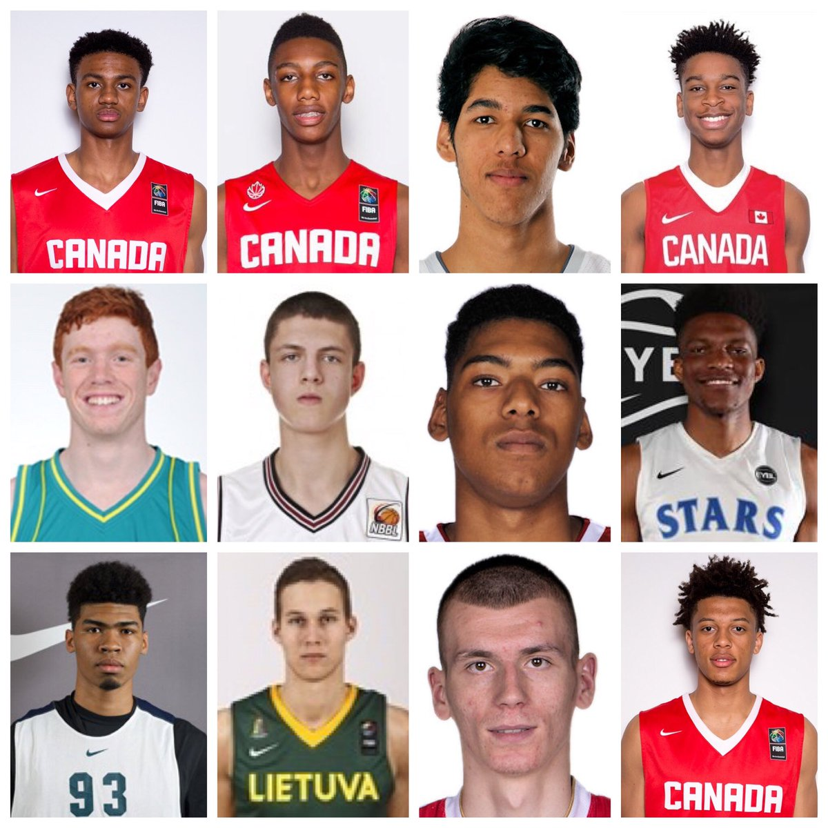 The 2017 Nike Hoop Summit World Team boasts a talented squad, chasing its 4th win in 6 years against the USA.  Friday April 7, Portland, OR!