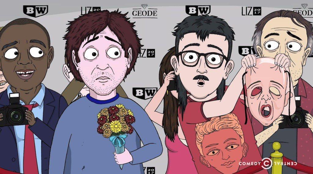 Watch a sneak peek from tonight's 'Jeff & Some Aliens' finale http...
