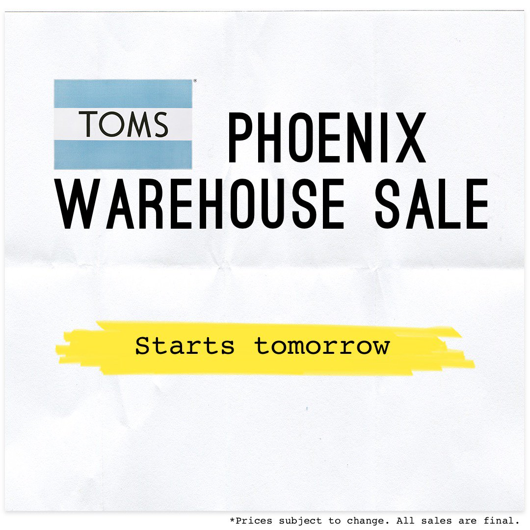 251137cd811 TOMS Warehouse Sale ( TomsWHSale)