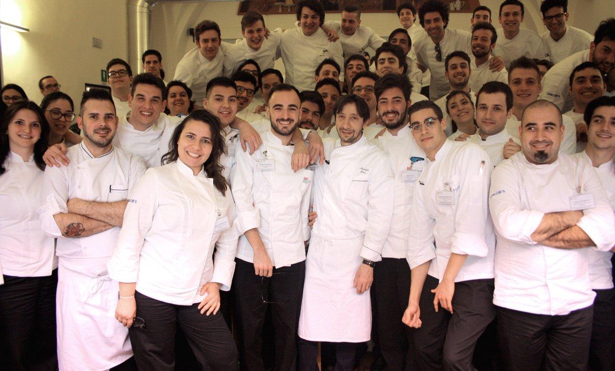 Alma scuola cucina on twitter chef maurizio serva di latrotarist porta il pesce d acqua dolce - Alma scuola cucina ...