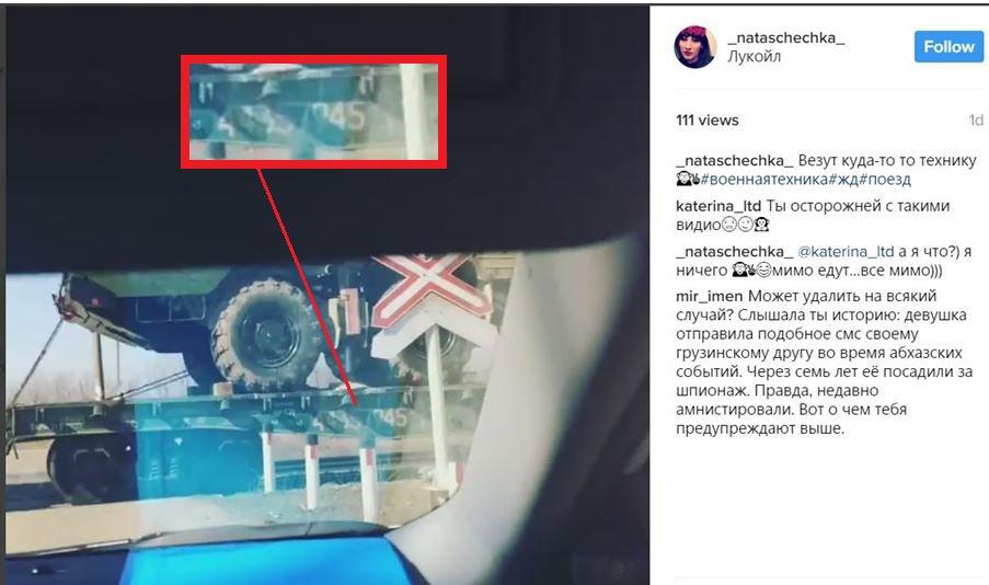 InformNapalm: Russian SAM S300 Echelon filmed recently in Krasnodar headed to occupied Abkhazia