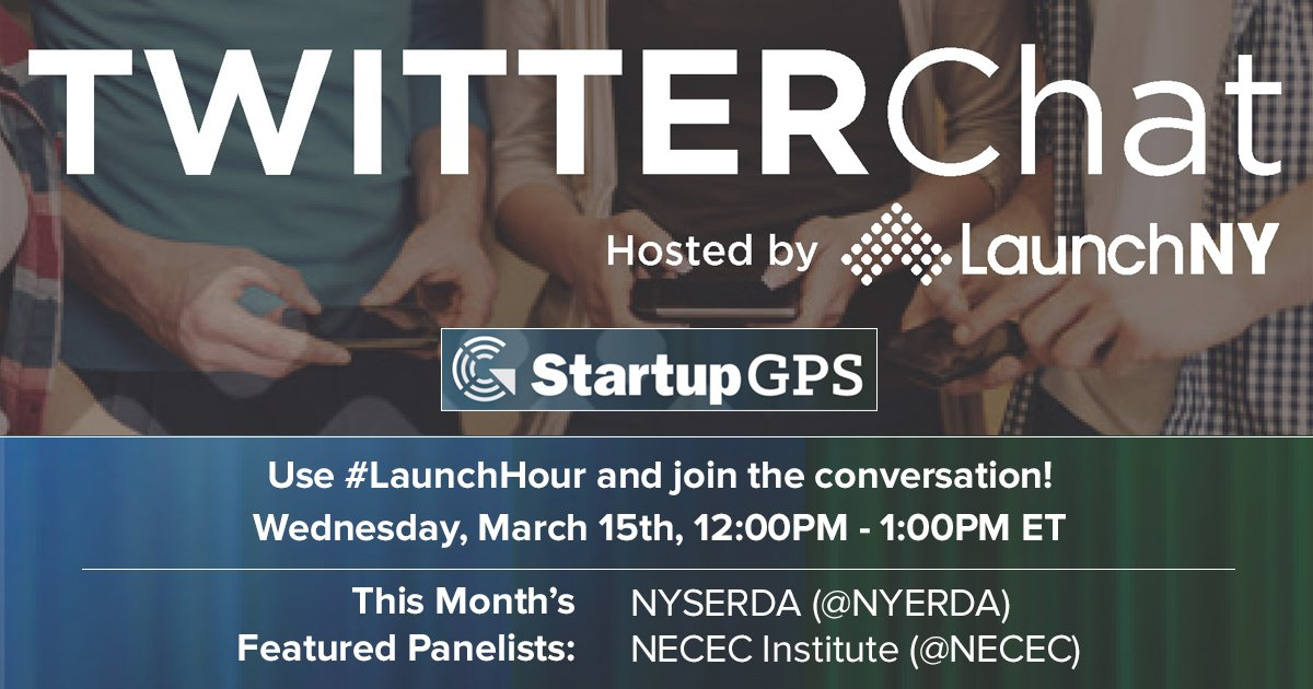Our #TwitterChat starts in 10 mins. Follow #LaunchHour to join the action & learn about resources for startups. https://t.co/mtpiKaXwIR
