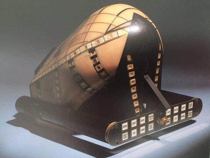 The helmet from Videodrome. Thank-you & Happy Birthday David Cronenberg,