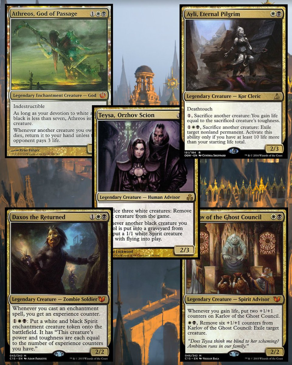 Wizardry Foundry On Twitter Top 5 Orzhov Commanders According To Https T Co Opxfqupngh Who Is Your Favorite Most Hated Orzhov Commander Https T Co Gbkcrkadt7 Https T Co Gpt44bohsn All deck guide event ranked tournament. hated orzhov commander