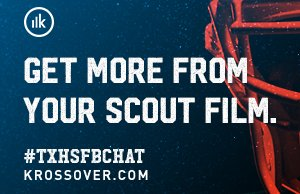 Welcome to #TXHSFBCHAT, tonight's topic is Evolution of Football - Coaching and is sponsored by @Krossovr https://t.co/nvluS0JLgY
