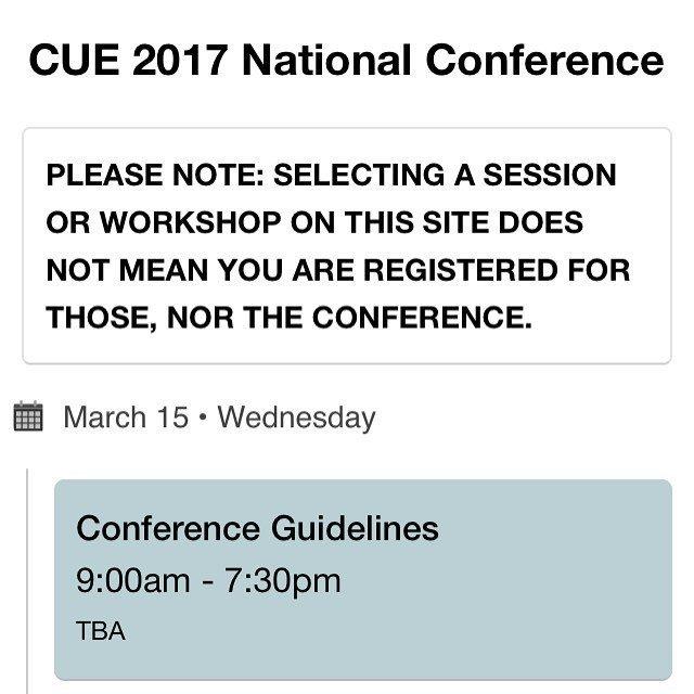 CUE17 Archive | Participate