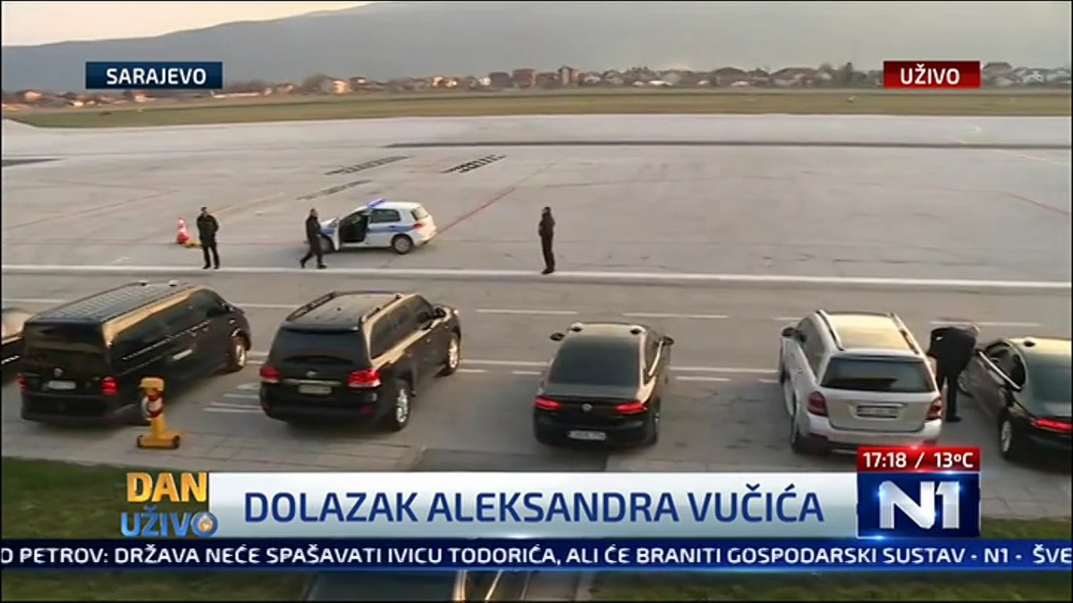 Serbia PM Aleksandar Vučić expected to arrive in Sarajevo soon on official visit to Bosnia and to attend regional summit @N1infoSA