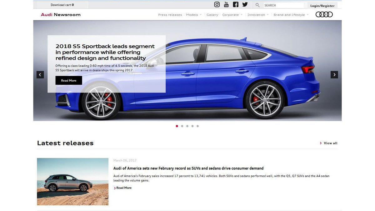 Audi Newsverified Account