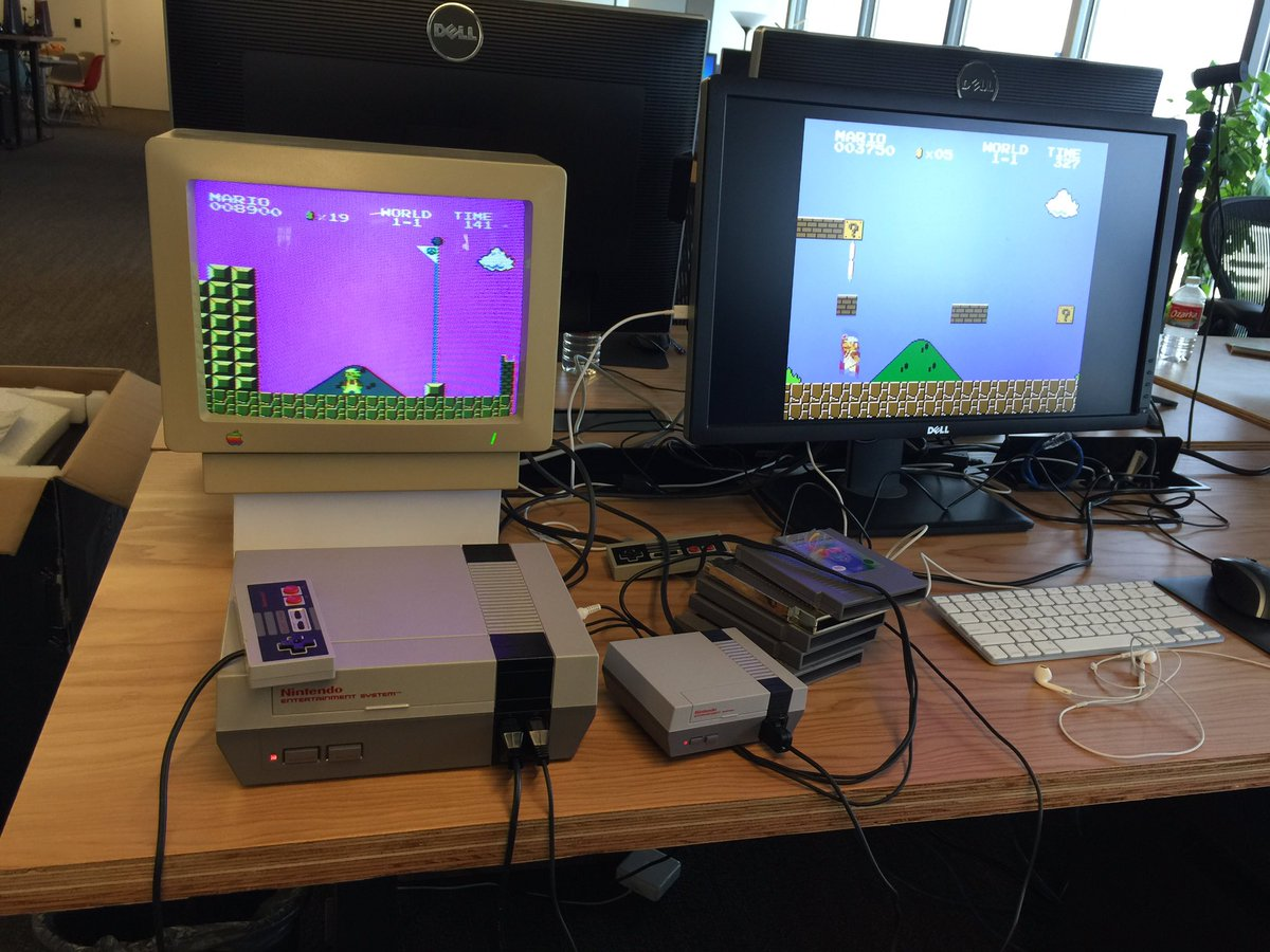 john carmack on twitter color fidelity on old crt not so good and