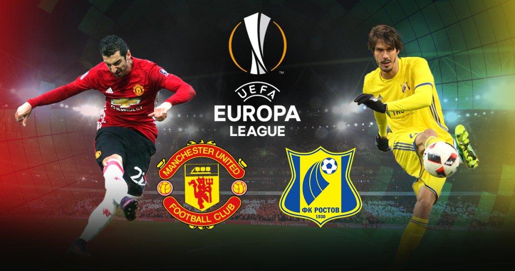 Manchester United x Rostov assistir ao vivo