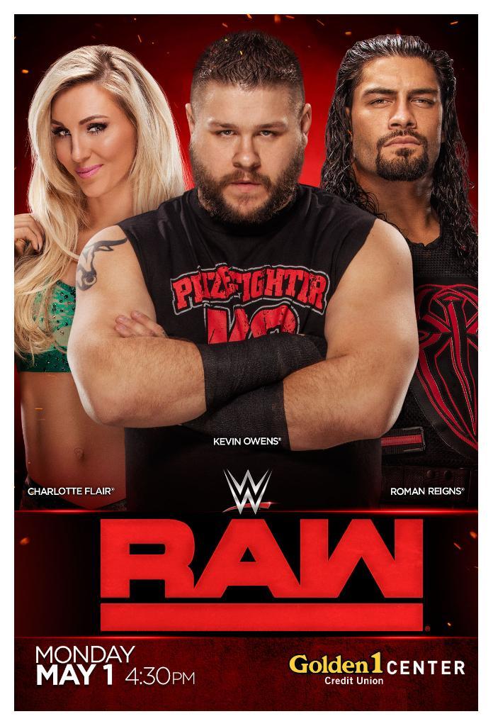 WWE Monday Night Raw 21th JANUARY 2019 500MB HDTVRip 480p x264