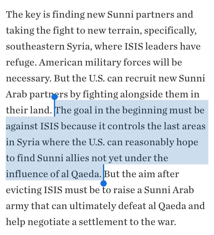 If your only hope is Deir – largely depopulated, and whose local forces ISIS broke or coopted – maybe you're already out of the game. https://t.co/jQaoYqbGkG