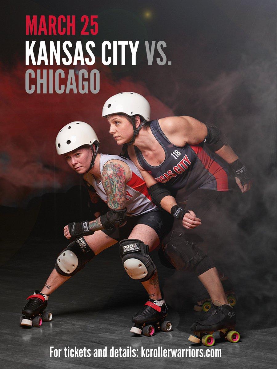 Roller skates kansas city - Kc Roller Warriors On Twitter Join Us For The Kansascity Roller Warriors Travel Team Vs Chicagooutfit Game March 25 Memorial Hall