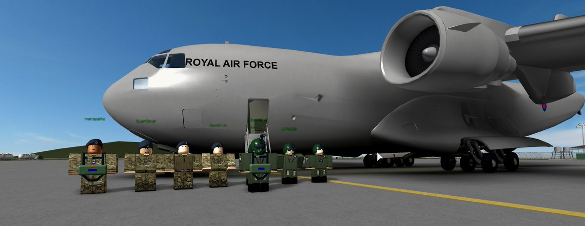 Royal Air Force At Rafroblox Twitter