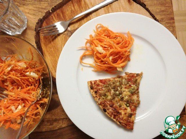 Легкий салат с тунцом рецепт