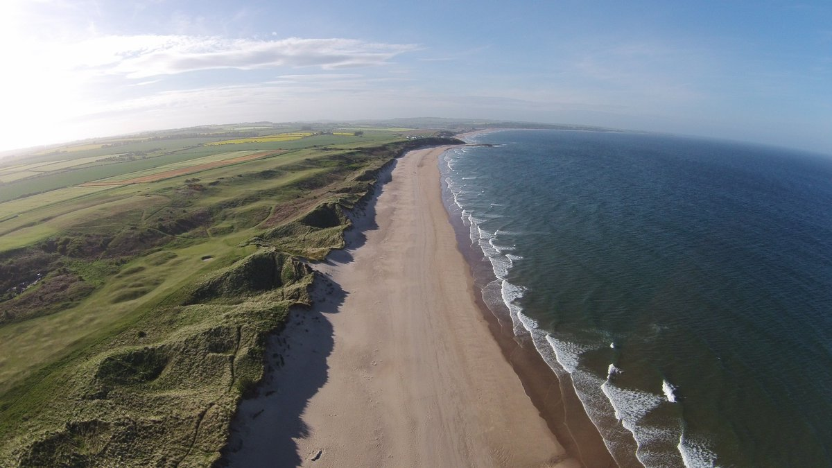 Looking up the coast from Warkworth https://t.co/2ZXymCHkR5