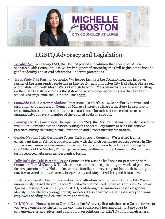 Michelle Wu On Twitter Last Day To Vote For 2017 Boston Pride