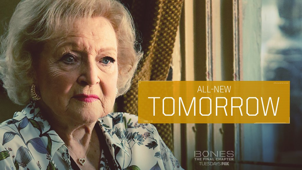 Don't miss the lovable @BettyMWhite TOMO...