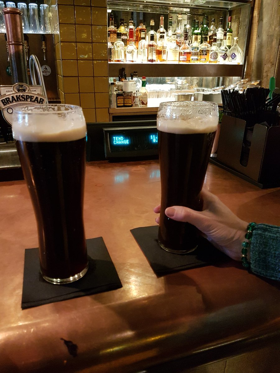 First beer in #London! Enjoying a @SambrookAle Black IPA at @150waterlooroad. #craftbeer #vacation #mysterydate <br>http://pic.twitter.com/TYIkNDSp6S