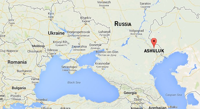 Russia: 3000 soldiers and 700 pieces of hardware executed a march of 1000km to get to the Astrakhan Oblast, now at the Ashuluk range.