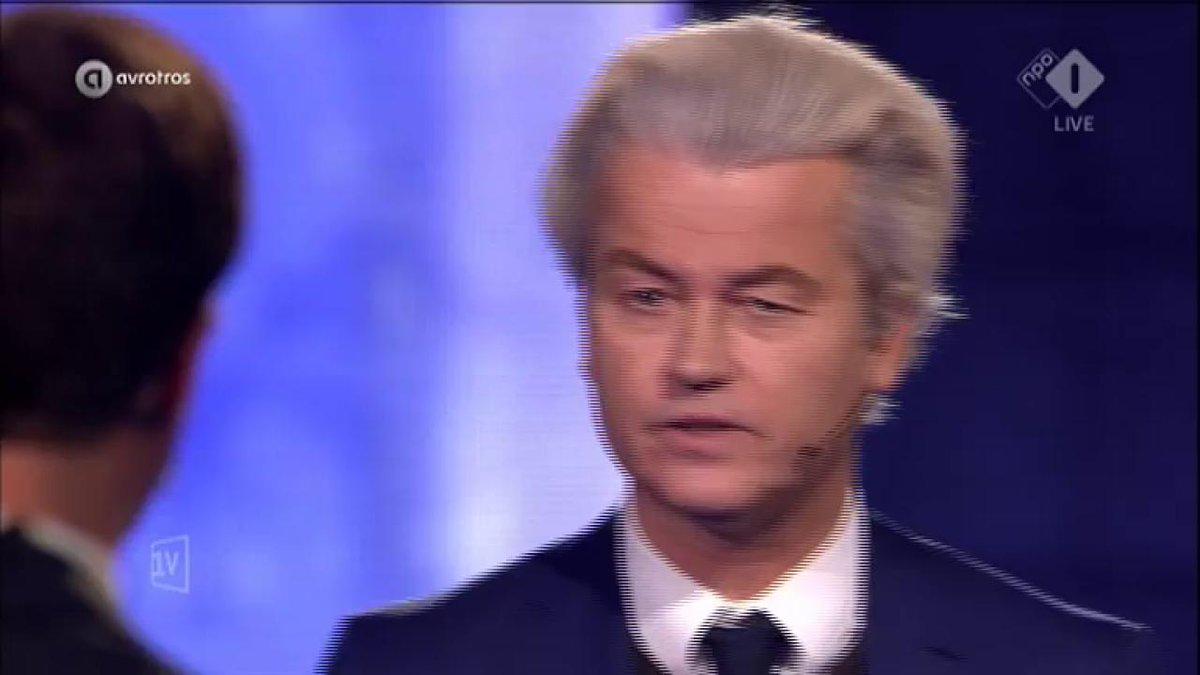Wilders: 'Ik speel een finale tegen leugenaars en weggevers als u, meneer Rutte.' #1VDebat #EenVandaag https://t.co/aZdY0MEKfK