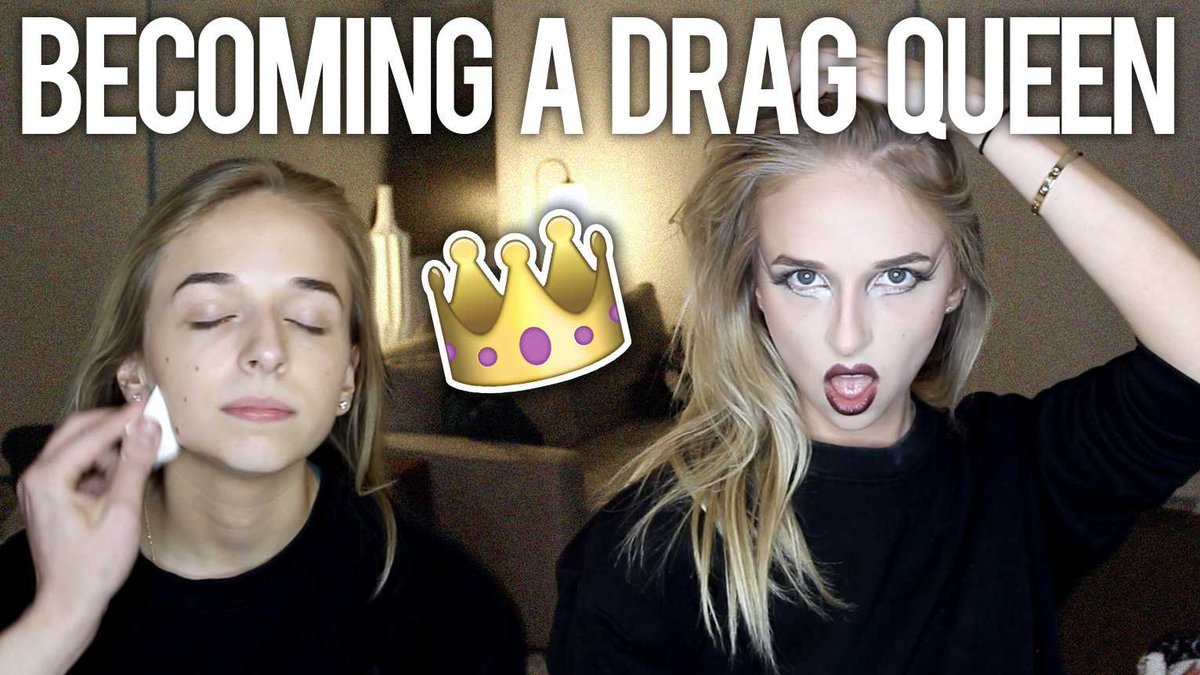 Have you seen this past weekends new video yet?! BECOMING A DRAG QUEEN >>> youtube.com/watch?v=Qw_Xnj…