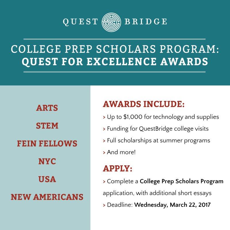 questbridge scholarship essays