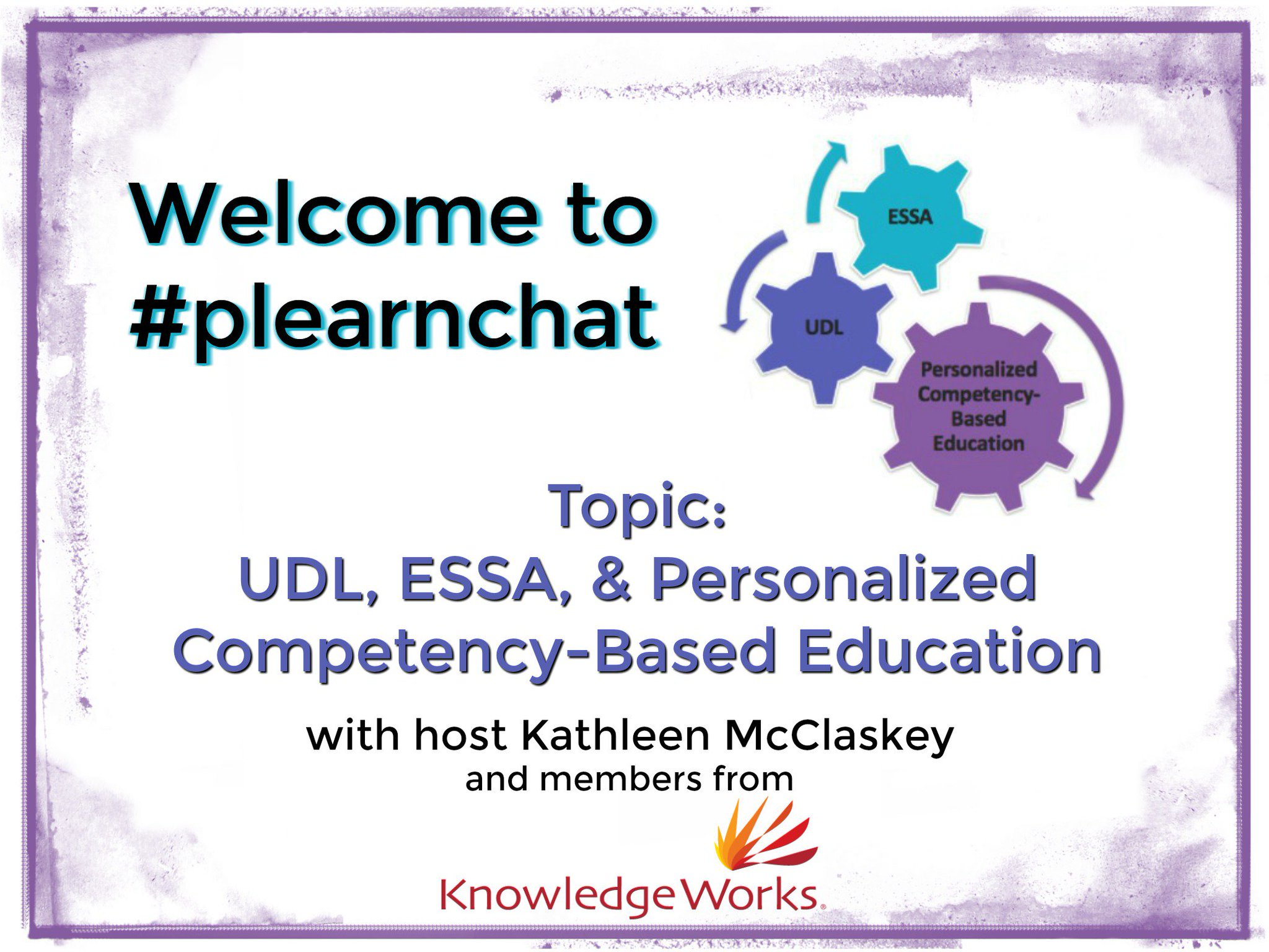 Welcome to #plearnchat with host @khmmc & the @knowledgeworks team! Please introduce yourself & location. 1 participant will win How to PL! https://t.co/YyalyGpOh1