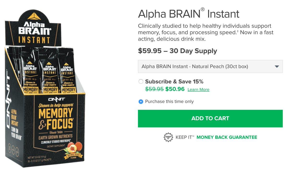 Joe Rogan Experience On Twitter Onnit Alpha Brain Instant