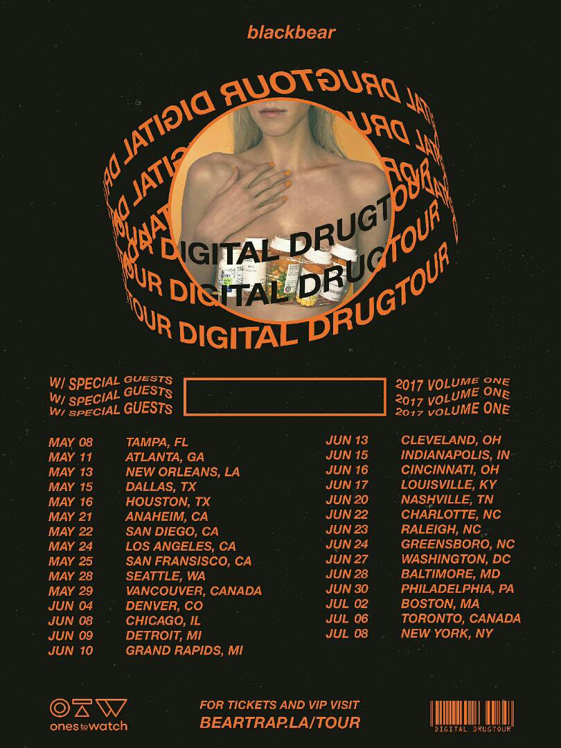 who do u wanna see on tour w me? also adding shows everyday so check : beartrap.la/tour for tix n vip