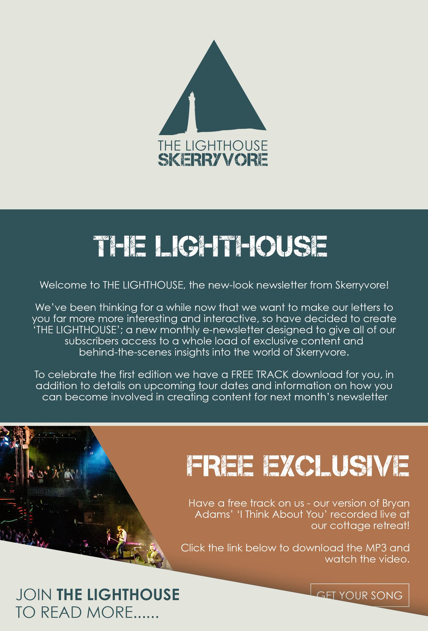 Skerryvore On Twitter Introducing The Lighthouse The New Look