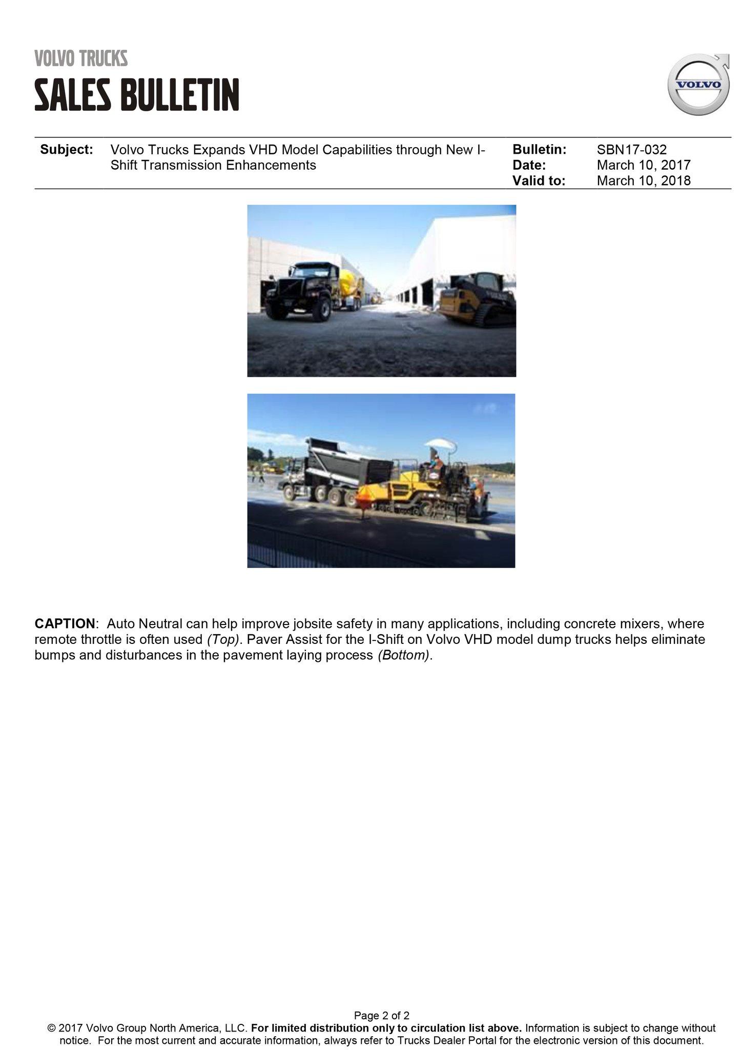 "Vision Truck Group on Twitter ""Volvo Trucks Expands VHD Model"