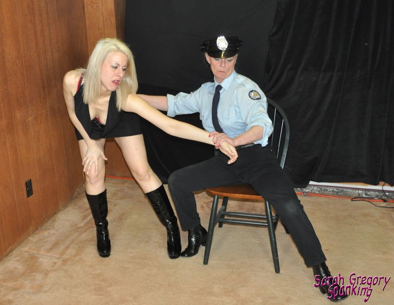 Sexy spank thong