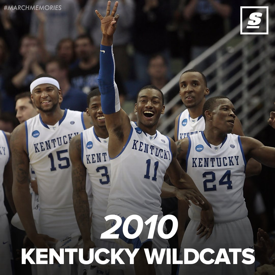 .@boogiecousins @JohnWall  @EBled2  Who could forget the 🔥 2010 @KentuckyMBB squad? #MarchMadness
