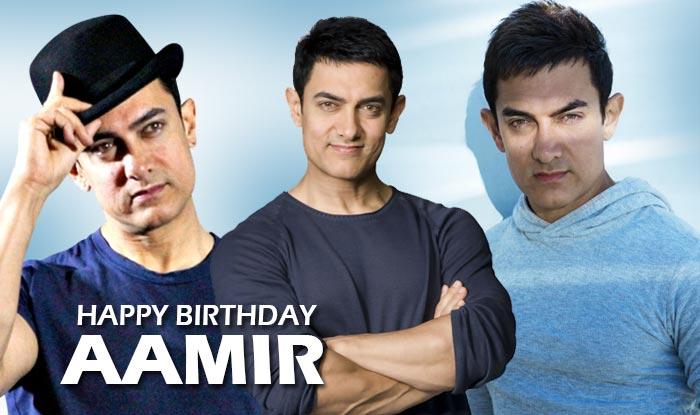 Happy birthday    Aamir Khan