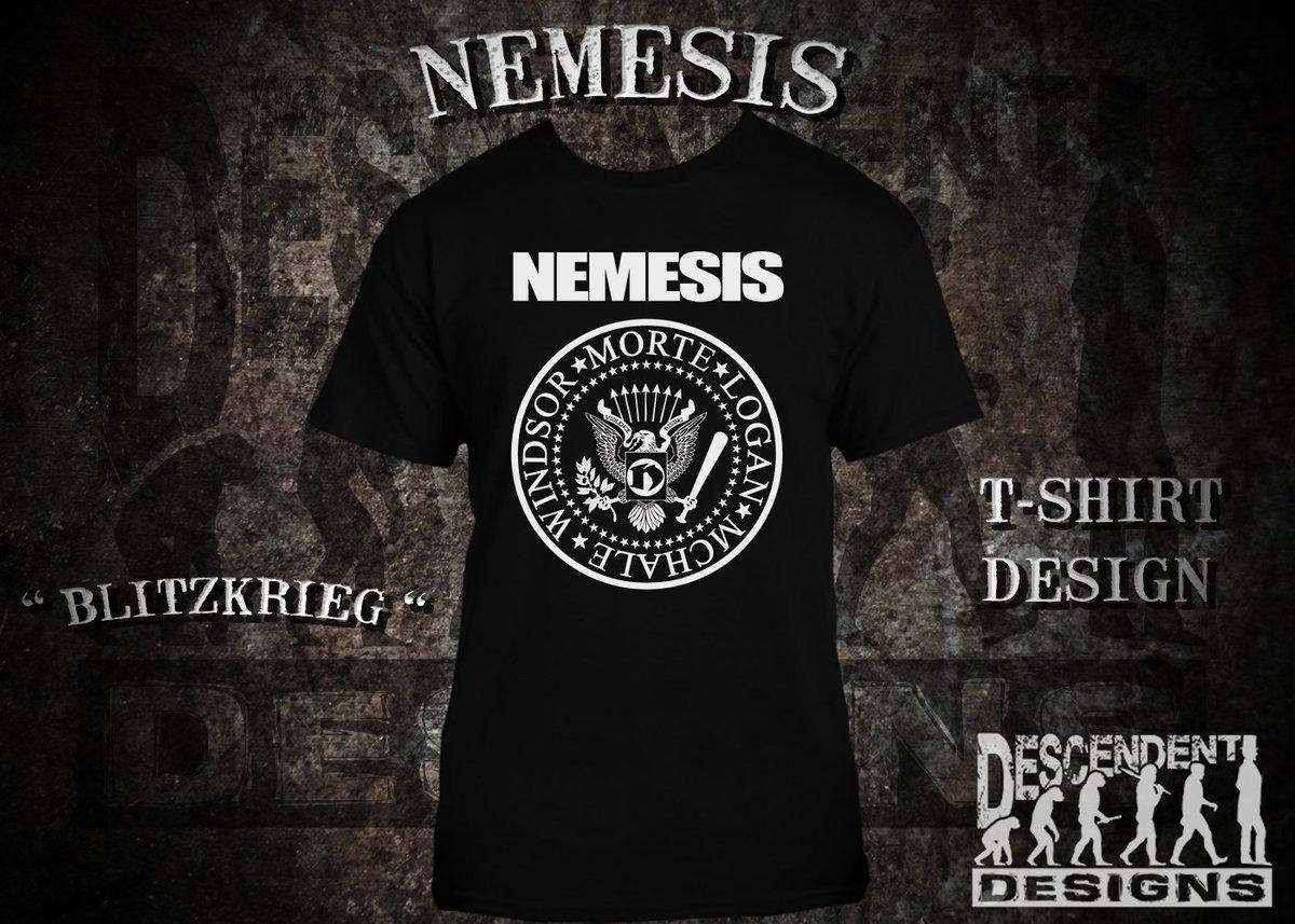 Shirt design now - Descendent Designs On Twitter Blitzkrieg Design For Wrestling Faction Nemesisytr Get Your Custom Logo Shirt Design Now And Have Merchthatmoves