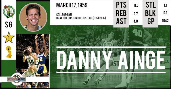 Happy Birthday Danny Ainge !
